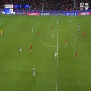 Bayer Leverkusen 0-2 Juventus - Higuaín 90'+2'