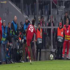 Coman injury vs Tottenham