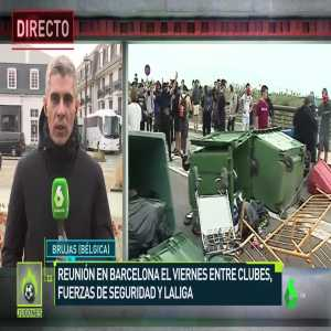 Jose Luis Sanchez: Urgent meeting in Barcelona before El Clasico between the clubs, security and the league. El Clasico could be played on a neutral field.