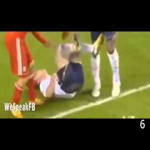 Luis Suarez and his top 10 most disgusting plays.