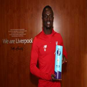 Sadio Mane named Premier League Player of the Month for November.