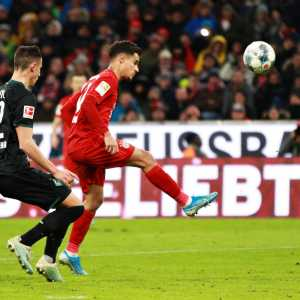 Coutinho is the 1st Brazilian to score a hat trick for Bayern since Giovane Elber in 2003