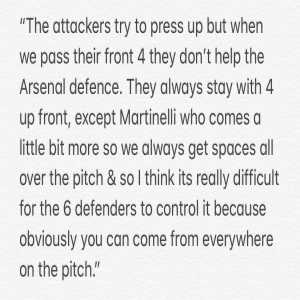 Here is Kevin De Bruyne's analysis of why Arsenal struggled today & he is absolutely correct. Their defensive issues are with every player. Unai Emery compared this season's Arsenal with Klopp's first season at Liverpool. Klopp though found forwards who defended from the front.
