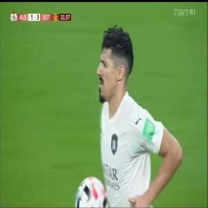 Algeria's Baghdad Bounedjah (Al-Sadd) becomes just the 2nd ever African player to score 3 goals in a single edition of the Club World Cup after Mohamed Aboutrika (2006)