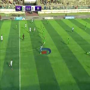 bees attack the field during the game between young africans vs iringa united in Tanzania yesterday