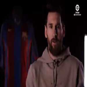 """Messi: """"Being LaLiga's top goalscorer with what LaLiga in Spain means is special. Actually, I think it's one of the more beautiful records that I have. It was hard at first, many times Eto'o told me 'the day you start scoring, you will see...' One day it all opened up and they all started going in."""""""
