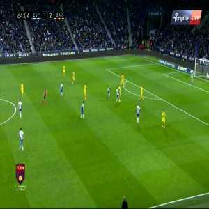 Messi run vs Espanyol
