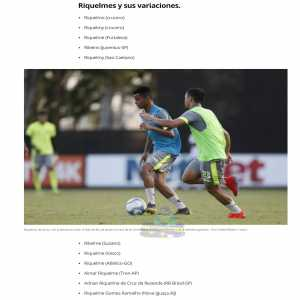 In a Brazilian youth tournament there are 12 players whose name is a variation of Riquelme