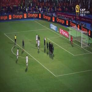 Mahrez free kick goal in the AFCON Semi Final is the CAF goal of the year