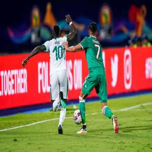"""Riyad Mahrez: """"Congratulations to Sadio for his trophy well deserved and sorry I couldn't come but I had to start scoring for the 2020 trophy see you next year incha' Allah"""""""
