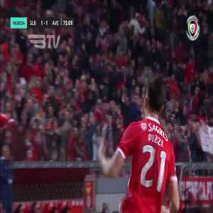 SL Benfica [1]-1 CD Aves - Pizzi 76' (penalty)
