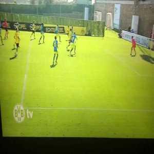 Borussia Dortmund (2)-1 Feyenoord: Gio Reyna 43'