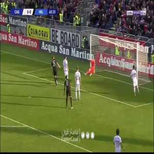 Cagliari 0-[1] AC Milan | Rafael Leao