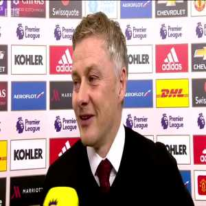 Ole on Man city playing a strong starting XI against them on Tuesday