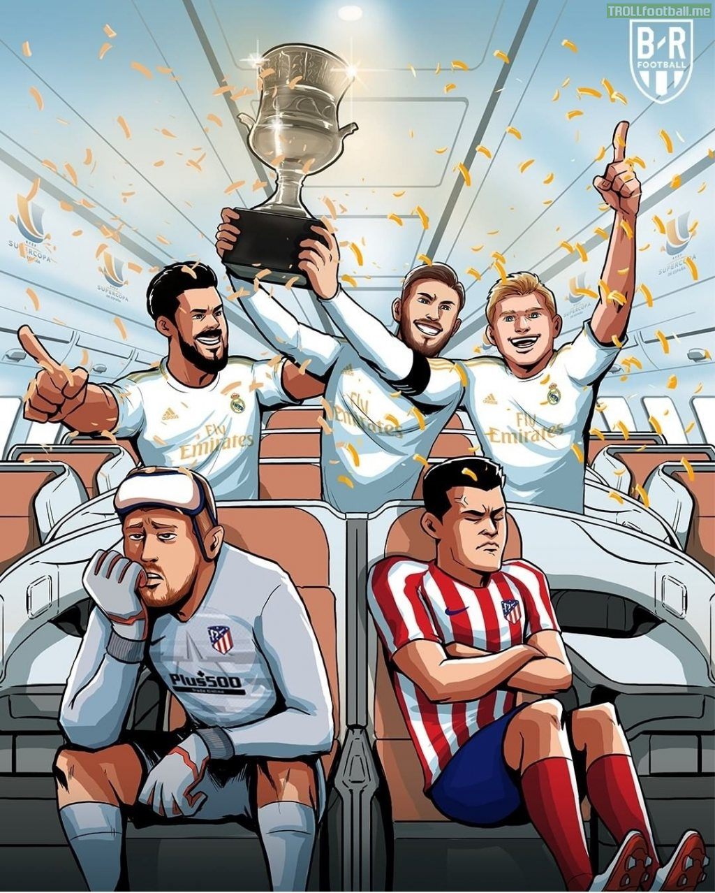REAL MADRID WIN THE SUPERCOPA DE ESPANA !