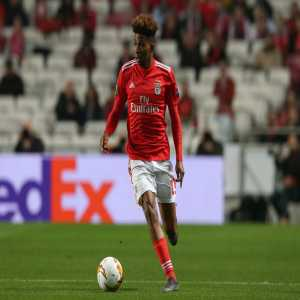 Benfica midfielder Gedson Fernandes is due to have a medical at Tottenham today ahead of an 18-month loan deal.