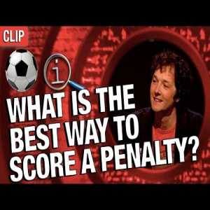 Flashback/Humor: QI discusses the best way to take a penalty (Series M, pre-2018 World Cup with Stephen Fry, Alan Davies, Sue Perkins, Chris Addison and Sara Cox)