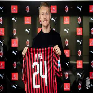 Kjær will earn €500K at AC Milan for the following six months and the option to buy is set between €2-3M.