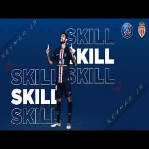 Neymar Jr amazing dribbling out of trouble vs Monaco
