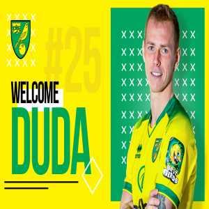 OFFICIAL: Duda joins Norwich city FC.