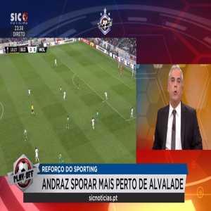 Sic Noticias: Sporar to sign for Sporting CP for 7m Euros