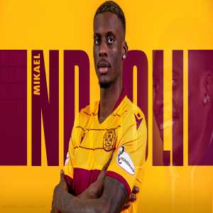 Mikael Ndjoli has joined Motherwell on loan from AFC Bournemouth