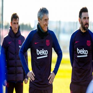 [SER] Setien's first ideas at Barcelona; Less minutes for players like Vidal in the midfield, More risk taking by the goalkeeper and the idea of Coutinho back in the team.