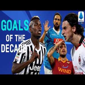 Best Serie A Goals of the decade