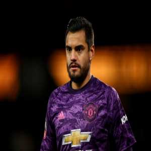 Sergio Romero for Manchester United: 53 games, 34 clean sheets. (64.1%)