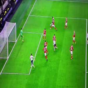 Sessegnon miss vs Middlesbrough