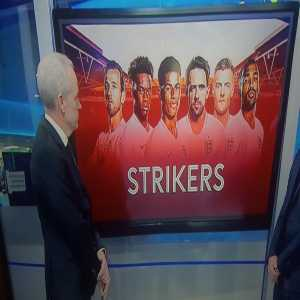 Sky Sports mistaking Callum Hudson-Odoi for Tammy Abraham when discussing England striker possibilities