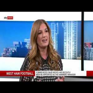 Karren Brady interview on Sky News about the current state of West Ham