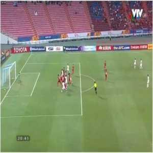U23 Vietnam 1-1 U23 DPR Korea - Kang Kuk-chol 28'