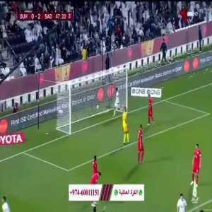 Al-Sadd [3] - 0 Al-Duhail - Baghdad Bounedjah 45+3' - Qatar Cup Final