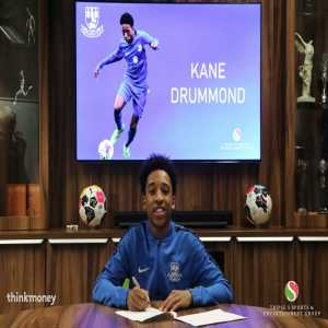 Rylands FC: ✍️ We're delighted to announce that Kane Drummond has signed a contract with the club and in doing so becomes the first contracted player in our 109-year history!