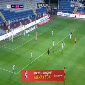 Basaksehir 3-0 Yeni Malatyaspor : Irfan Can Kahveci 34' (nice goal)