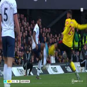 BT Sport on Twitter: Why wasn't VAR used to look at Étienne Capoue's challenge? The Watford player got away with this challenge in the first half, Peter Walton explain why...
