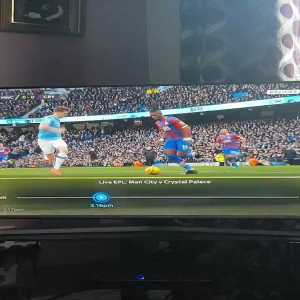 Crystal Palace penalty shout - VAR checked and not given