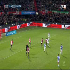 Feyenoord [2]-0 Heerenveen | Nicolai Jørgensen 17'