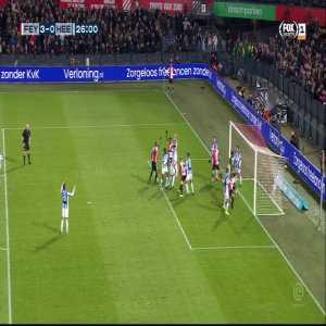 Feyenoord [3]-0 Heerenveen | Nicolai Jørgensen 26'