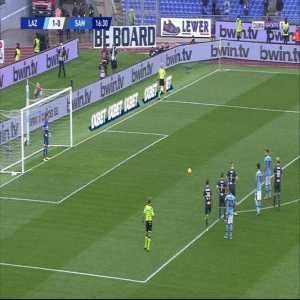 Lazio 2-0 Sampdoria - C. Immobile 17' Penalty