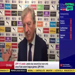 "Roy Hodgson on Crystal Palace's result against Man City ""I was asked what can you learn from Pep Guardiola? I wish I had thought of the correct answer which is to lose. Today we didn't. I didn't learn my lesson well enough"""