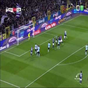 Anderleccht - Club Brugge 1-[1] Hans Vanaken great goal