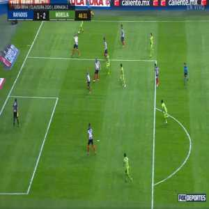 Liga MX: Monterrey 1 - [2] Morelia - Rocha 46' Nice Goal