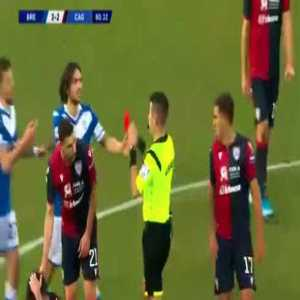 Mario Balotelli (Brescia) red card 81' vs Cagliari