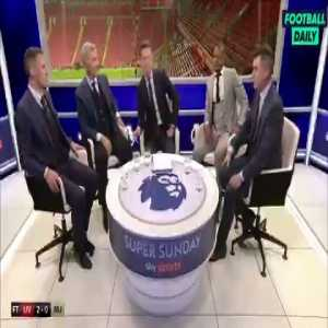 Roy Keane & Jamie Carragher's argument over Manchester United's managers got a bit tasty
