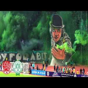 Wydad casablanca Vs raja casablanca. Most popular Derby in Africa