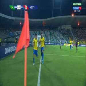 Brazil [1]-0 Peru - Paulinho | Olympic Qualifiers