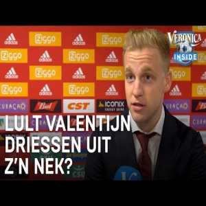 """Donny van de Beek: """"I'm not sure at all about any transfer. Yes, at the beginning of the season there was interest, but I surely haven't signed anything as of now. Who knows, maybe I'll stay here for another year""""."""