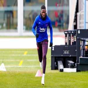 Ousmane Dembélé [Barca] has started training.